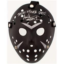 "Ari Lehman Signed ""Friday the 13th"" Jason Voorhees Mask Inscribed ""Jason Never Dies!""  ""Jason 1"" (PA"