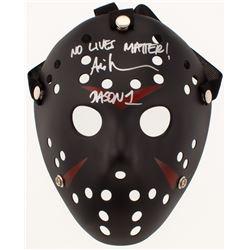 "Ari Lehman Signed ""Friday the 13th"" Jason Voorhees Mask Inscribed ""No Lives Matter!""  ""Jason 1"" (PA"