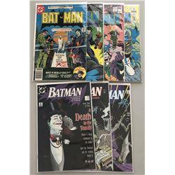 "Lot of (7) 1977 ""Batman"" DC Comic Books with #291, #294, #321, #353, #429, #450,  #451"