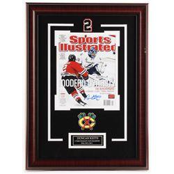 Duncan Keith Signed Chicago Blackhawks 17x23 Custom Framed Photo Display (JSA COA  Your Sports Memor