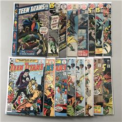 """Lot of (16) 1971-1977 """"Teen Titans"""" 1st Series DC Comic Books from #34-52"""
