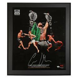 Conor McGregor Signed 20x24 Custom Framed Photo (Fanatics Hologram)
