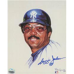 Reggie Jackson Signed New York Yankees 8x10 Print (Fanatics Hologram)