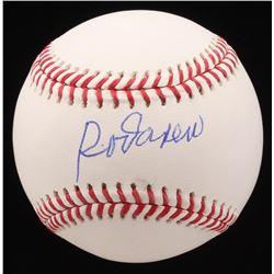 Rod Carew Signed OML Baseball (Schwartz COA)