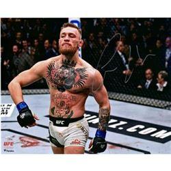 "Conor McGregor Signed UFC ""Bili Strut"" 16x20 Photo (Fanatics Hologram)"