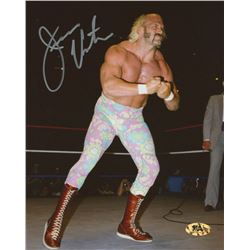 Jesse Ventura Signed WWE 8x10 Photo (MAB Hologram)