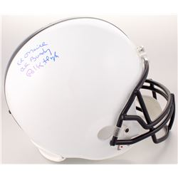 "Ed O'Neill Signed Polk High Panthers Full-Size Helmet Inscribed ""Al Bundy""  ""Polk High"" (Schwartz CO"