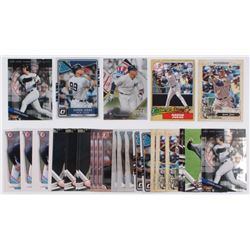 Lot of (41) Aaron Judge Baseball Cards with 2017 Donruss #38 RC, 2017 Topps Gypsy Queen #168A RC, 20