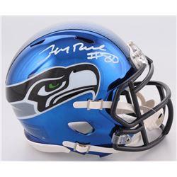 Jerry Rice Signed Seattle Seahawks Chrome Speed Mini-Helmet (Beckett COA)