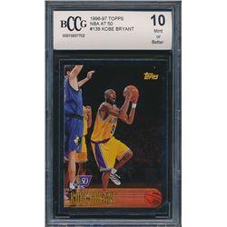1996-97 Topps NBA at 50 #138 Kobe Bryant (BCCG 10)