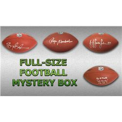 Schwartz Sports Football Superstar Signed Full Size Football - Series 8 (Limited to 100)