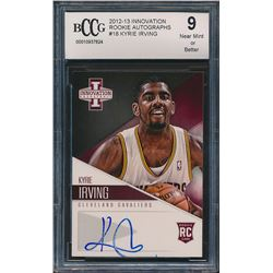 2012-13 Innovation Rookie Autographs #18 Kyrie Irving (BCCG 9)