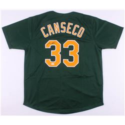 Jose Canseco Signed Oakland Athletics Jersey (JSA COA)
