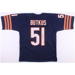 Dick Butkus Signed Chicago Bears Jersey (JSA COA)