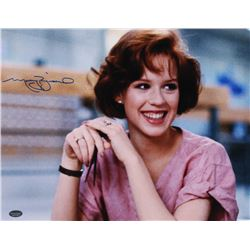 "Molly Ringwald Signed ""The Breakfast Club"" 11x14 Photo (Schwartz COA)"
