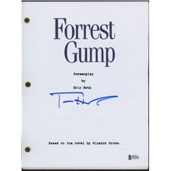 "Tom Hanks Signed ""Forrest Gump"" Full Movie Script (Beckett COA)"