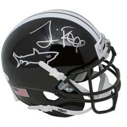 "Jamie Foxx Signed ""Any Given Sunday"" Miami Sharks Mini Helmet (JSA COA)"