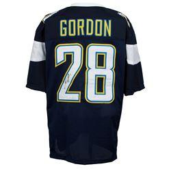 Melvin Gordon Signed Los Angeles Chargers Jersey (JSA COA)