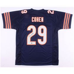 Tarik Cohen Signed Chicago Bears Jersey (Schwartz COA)