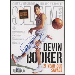 Devin Booker Signed 2018 Slam Magazine (Beckett COA)