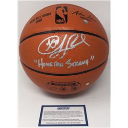 """Chris Paul Signed Spalding NBA Game Ball Series Basketball Inscribed """"Houston Strong"""" (Steiner COA)"""