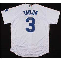 Chris Taylor Signed Los Angeles Dodgers Jersey (PSA COA)