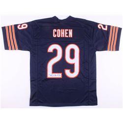 Tarik Cohen Signed Chicago Bears Jersey (Beckett COA)