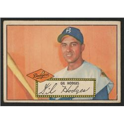 1952 Topps #36 Gil Hodges