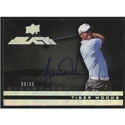 2014 UD Black Autographs #1 Tiger Woods