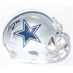 Jaylon Smith Signed Dallas Cowboys Speed Mini Helmet (JSA COA)