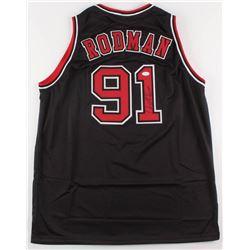 Dennis Rodman Signed Chicago Bulls Jersey (JSA COA)