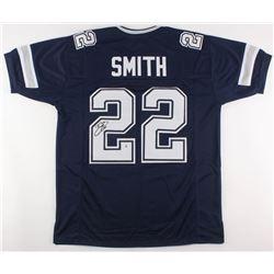 Emmitt Smith Signed Dallas Cowboys Jersey (Beckett Hologram)