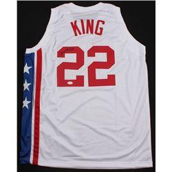 Bernard King Signed New Jersey Nets Jersey (JSA COA)