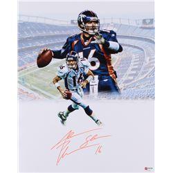 Jake Plummer Signed Denver Broncos 16x20 Photo (PA COA)