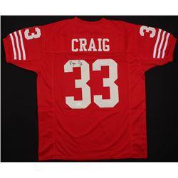 Roger Craig Signed San Francisco 49ers Jersey (JSA COA)