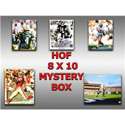 Schwartz Sports Football Hall of Famers Signed Mystery Box 8x10 Photo Series 5 (Limited to 75) - **J