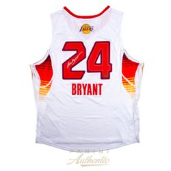 Kobe Bryant Signed Los Angeles Lakers 2009 Western Conference All-Star Jersey (Panini COA)