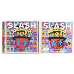 "Slash Signed ""Living the Dream"" CD Album Sleeve Inscribed ""2018"" (JSA Hologram)"