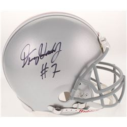 Dwayne Haskins Signed Ohio State Buckeyes Full-Size Authentic On-Field Helmet (Radtke COA)