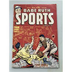 "1950 ""Babe Ruth"" Issue #8 Sports Comics Comic Book"