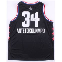 Giannis Antetokounmpo Signed 2019 All-Star Game Jersey (JSA COA)