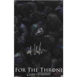 """Kit Harington Signed """"Game of Thrones: Battle of the Bastards"""" 11x17 Photo (Radtke COA)"""