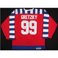 Wayne Gretzky Signed 1991-92 All-Star Game Captain Jersey (JSA LOA)