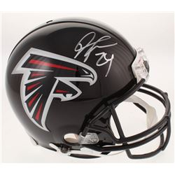 Devonta Freeman Signed Atlanta Falcons Full-Size Authentic On-Field Helmet (Radtke Hologram)