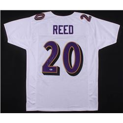 Ed Reed Signed Baltimore Ravens Jersey (Beckett COA)
