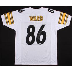 "Hines Ward Signed Pittsburgh Steelers Jersey Inscribed ""SB XL""  ""MVP"" (JSA COA)"