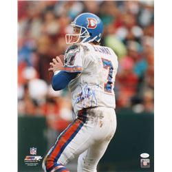 John Elway Signed Denver Broncos 16x20 Photo (JSA COA)