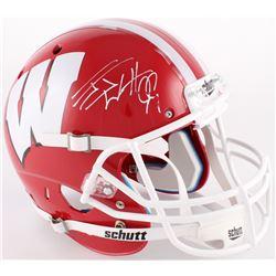 J. J. Watt Signed Wisconsin Badgers Full-Size Helmet (JSA COA)