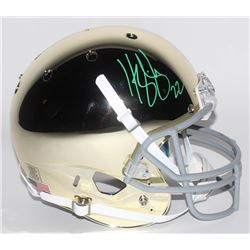 Harrison Smith Signed Notre Dame Fighting Irish Custom Chrome Full-Size Helmet (Radtke COA)