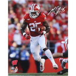 Melvin Gordon Signed Wisconsin Badgers 16x20 Photo (Radtke COA)
